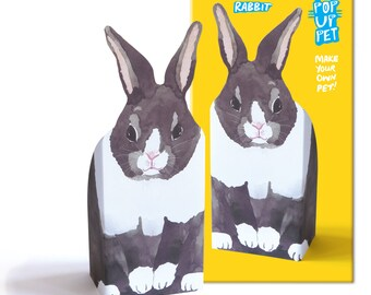 Pop Up Pet  - Rabbit / Bunny