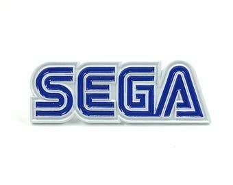 SEGA Enamel Pin Video Games 90s Heady Festival Hat and Lapel Badge