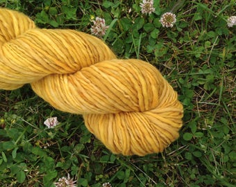 OCHRE - Handspun Merino Worsted Weight Yarn - 160 YDS