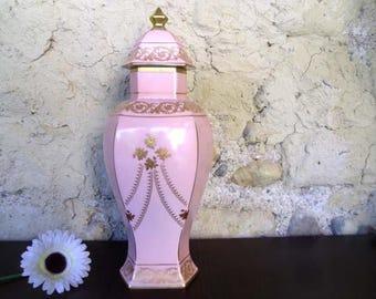 French Limoges jar , Limoges vase , Limoges china , Limoges porcelain , Vase ceramic , Vases vintage, Limoges urn , Table centerpiece