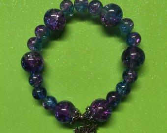 Winter snowflake bracelet