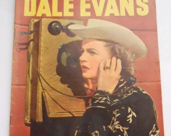 ON SALE! Dale Evans Queen of the West Vintage Comic Book, No. 13 1956, VG-