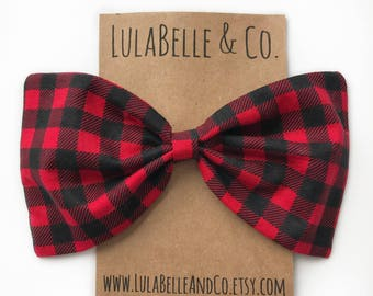Buffalo Plaid (Lumberjack) LulaBelle Bow