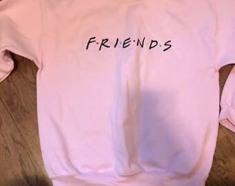 Friends fleece sweatshirt