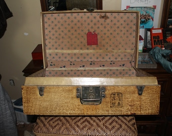 Antique Chinese Trunk Suitcase