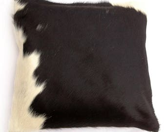 Natural Cowhide Luxurious Hair On Cushion/ Pillow Cover (15''x 15'') A95