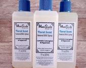 Natural Bug Spray, Floral Scent, 7oz, Bug Spray, Kid Safe, DEET Free Bug Spray, Insect Repellent, Natural Skin Care, Essential Oil