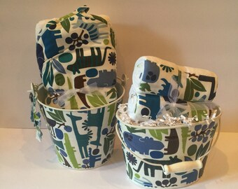 Modern Zoo Bucket Gift Sets