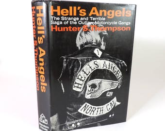 Hell's Angels by Hunter S. Thompson First Edition First Printing Very Rare