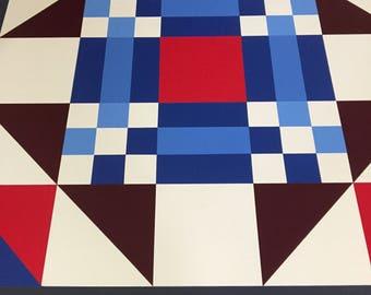 Barn quilt,barnquilts,3x3 barn quilt,4x4 barn quilt