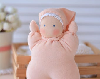 Waldorf Butterfly doll Ready to ship