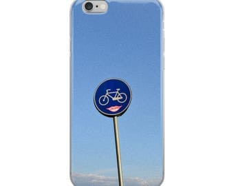 Bicycle Lips iPhone Case