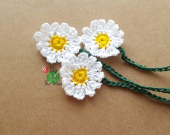 Small Daisy Umbilical Cord Tie for Newborn Baby - IN STOCK