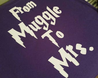 From Muggle to Mrs.