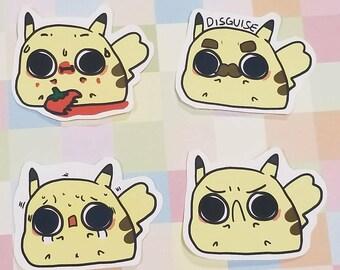 Fanart - Derpy Pikachu
