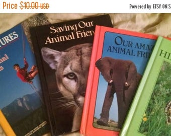 Retrocon Sale - Books for Young Explorers National Geographic Society 1980s four books