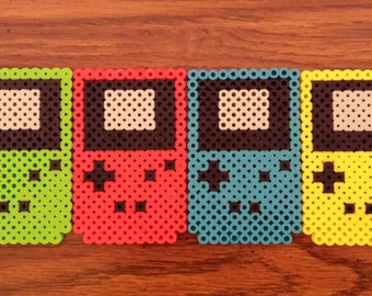 Game Boy Color Perler Bead Sprites | Choose Your Color!