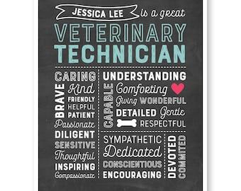 Vet Tech Gift, Veterinary Technician Gift, Veterinary Technician Graduate Gift, Veterinarian Appreciation, Vet Graduation, Gift Vet Tech