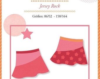 """Summer Sale Mialuna sewing pattern Jersey Rock """"Kenya"""""""