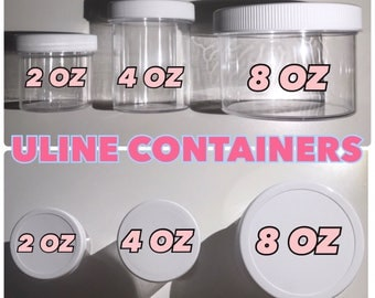 CHEAP ULINE CONTAINERS (for slimes)