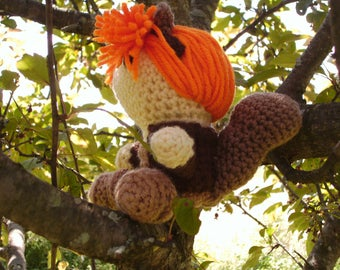 Squirrel Girl Crochet Doll