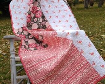 Girls Flamingo Quilt