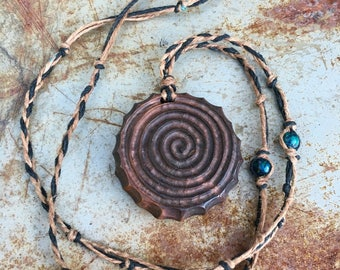 Ride The Spiral Pendant