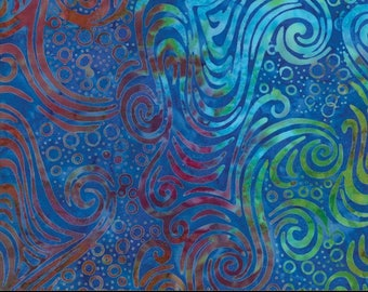 United Notions - Moda-Salsa Batiks - Sunset- 100% Quality Cotton - #4345 18