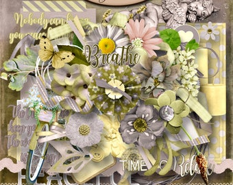 Digital Scrapbooking, Elements: Inner Calm