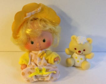 BUTTER COOKIE w/ Jelly Bear Vintage Strawberry Shortcake Doll