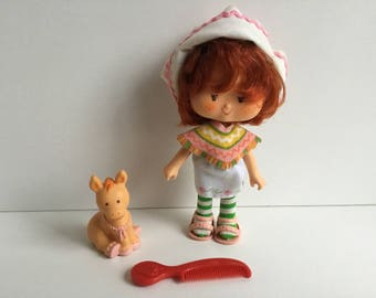 CAFE OLE w/ Burrito Vintage Strawberry Shortcake Doll