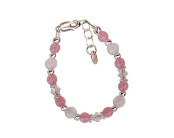 Sterling Silver New Arrival Baby Bracelet  Gift Comes with a Sweet Poem (NBB-01A)
