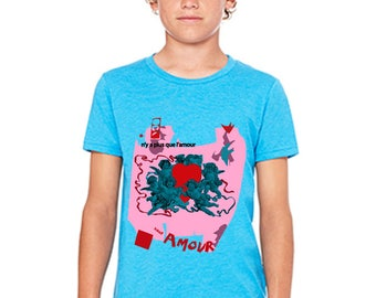 Beat IT Amore Youth Tee 3001Y