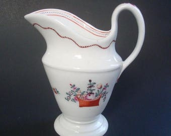 ON SALE NOW c1795 New Hall Porcelain Jug.  Pattern #171.  Newhall Creamer.
