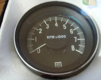 Stewart Warner 997-J Tachometer- New (NOS) in Box