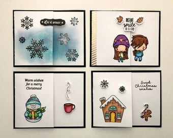 Holiday Cards with Gift Card Pocket