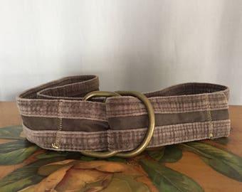 Velvet Belt Vintage Belt