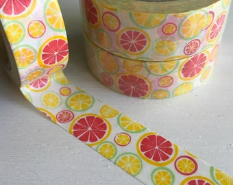 Citrus Slices Washi Roll