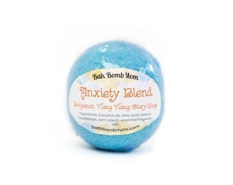 Anxiety Blend Bath Bomb