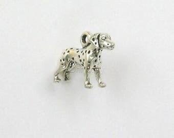 Sterling Silver 3-D Dalmatian Charm
