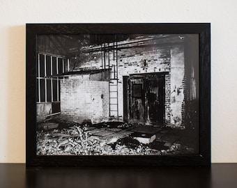 Lightsick I - handmade photographic silver gelatin print - analogue photography