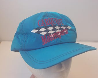 Carquest motorsport hat cap vintage checker snapback