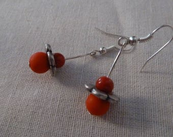 """So Cute"" earrings Red"