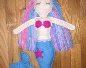 Mermaid Doll Crochet Amigurumi