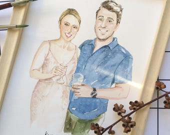 Custom Wedding Portrait (A5)