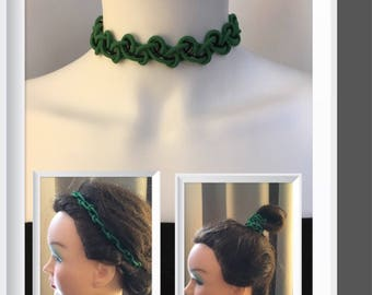 Choker and Hairband in one