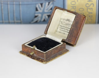 Antique Ring Box - F Gibson