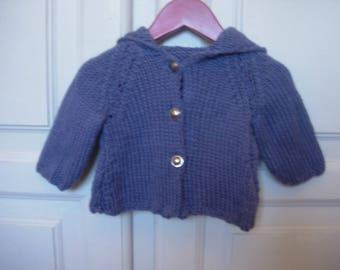 Blue Pixie vest 6 months