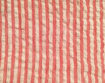 Original Collection Light Red - Reusable Bag - Sandwich Bag - Waterproof Bag - PUL Fabric - 100% Cotton