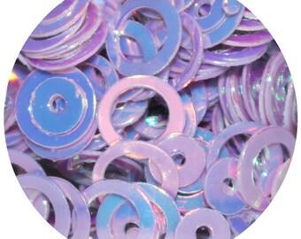 Lilac Bubbles Body Glitter Pot - Iridescent Circles Body Glitter, Loose Festival Face Body Glitter, Body Glitter, Purple Body Glitter